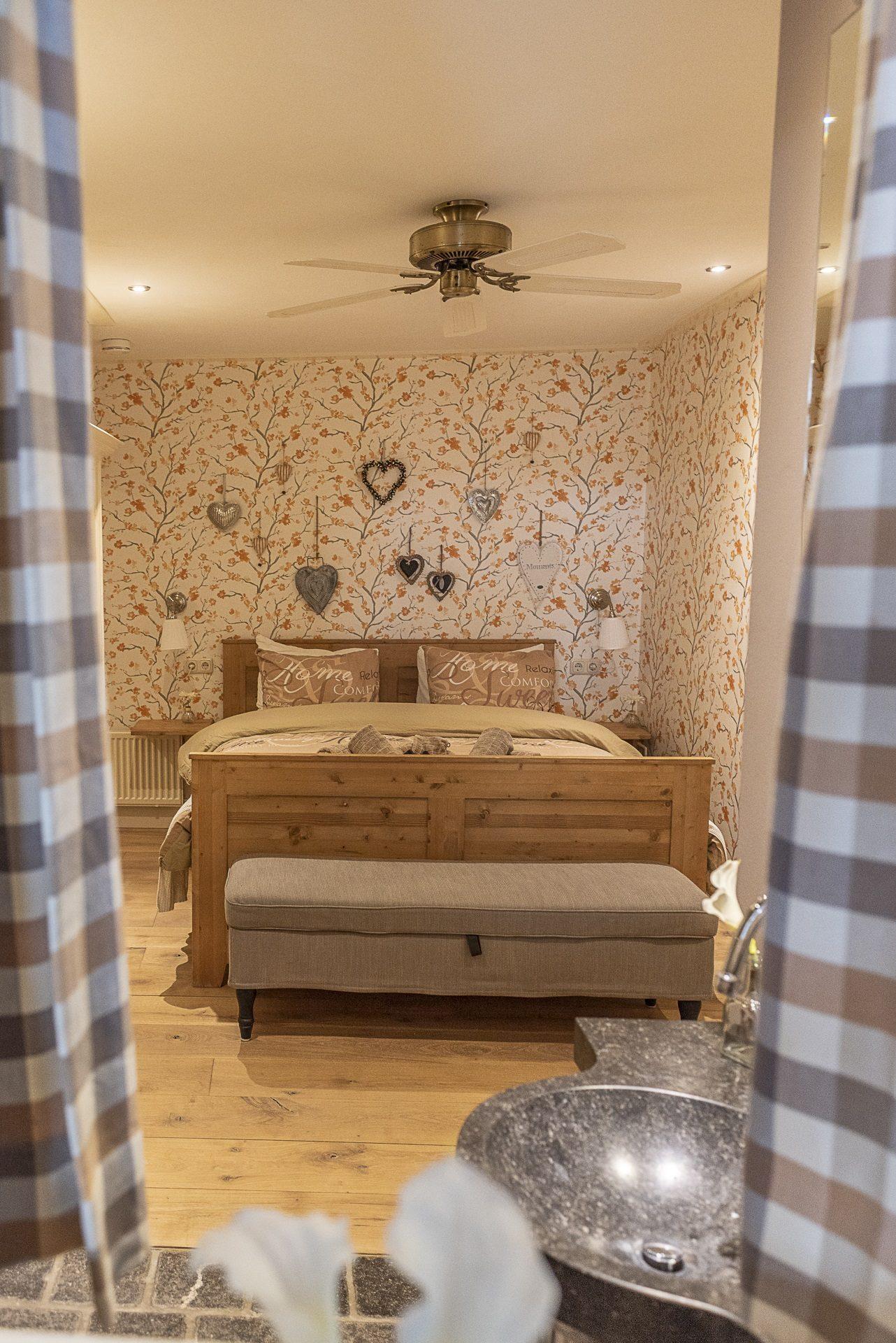 Slaapkamer inkijk
