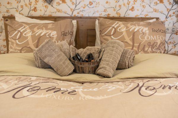 Slaapkamer handdoeken